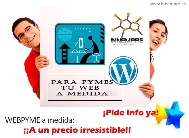 tu web basica a precio irresistible
